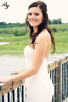 September 2014- Bridal portraits on the South Deck. Photo by Mize Photography.
