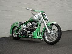 2001 Indian Scout – Hot Rod Motorcycle:        113 S Motor And Air Cleaner      Frost Green With Frosted Silver Flames      Loaded With Custom Chrome      Custom Exhaust      Custom Lights      Belt Drive      5,600 Miles      Too Many Extras To List