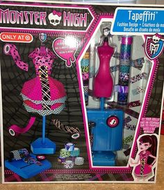 Monster High Tapefetti Fashion Design Play Set to make your own Monster High clothes