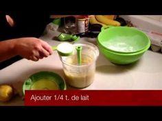 ▶ Recette Tupperware facile de cake au citron - YouTube