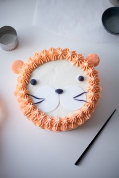 Lion Cake by Coco Cake Land