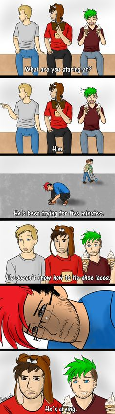 Quirky Youtubers by TalesOfShizuka on DeviantArt