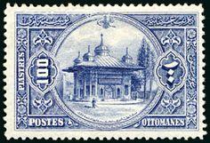 1914 Sultan Mehmed V 200Ghr green & black mint plus 100Pia mint, both very fine Dealer David Feldman S. A. Geneva Auction Minimum Bid: 200.00 EUR