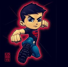 Young justice Superboy A.K.A Conner Kent