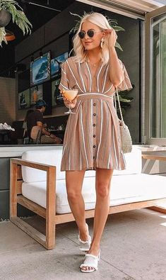 Summer Fashion Tips Park Avenue Chic Dress for summer! Fashion Tips Park Avenue Chic Dress for summer! Summer Fashion Trends, Spring Summer Fashion, Spring Outfits, Fashion Tips, Budget Fashion, Outfit Summer, Summer Trends, Fashion 2018, Paris Fashion