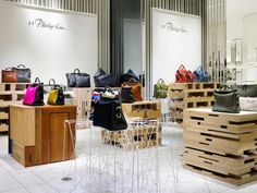 Retail Design | Accessories | Store Interiors 3.1 Phillip Lim's Pop-up Store by Schemata - News - Frameweb