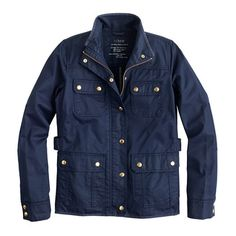 The downtown field jacket : OLDcotton & denim jackets | J.Crew - NEED!