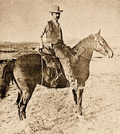 GEORGE W. TITSWORTH — What a resourceful lawman. This officer from Trinidad, Colorado, recovered a torn envelope, pasted the pieces together and used that information to track the Black Jack Ketchum Gang to Cimarron, New Mexico. – True West Archives –