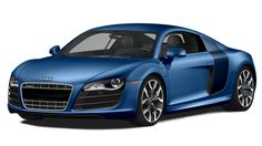Audi R8  5.2 FSI® with six-speed manual transmission and quattro® in Sepag Blue Pearl Effect