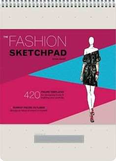 The Fashion Sketchpad: 420 Figure Templates for Designing Looks and Building Your Portfolio (Drawing Books, Fashion Books, Fashion Design Books, Fashion Sketchbooks) by Tamar Daniel - Chronicle Books Fashion Design Books, Fashion Books, Fashion Designers, Fashion Movies, Top Designers, Vigan, Fashion Sketchbook, Fashion Sketches, Fashion Illustrations
