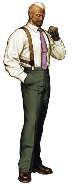 Seth from King of Fighters 2000