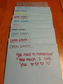 Cuuuute... Good first wedding anniversary. One letter for every month of being married
