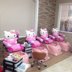 Cute chairs for kids pedicures!!! - Yelp