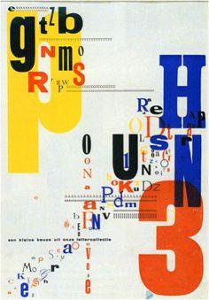 Piet Zwart, Ad for Printers, 1930