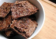 flax crackers by Omadsa, via Flickr