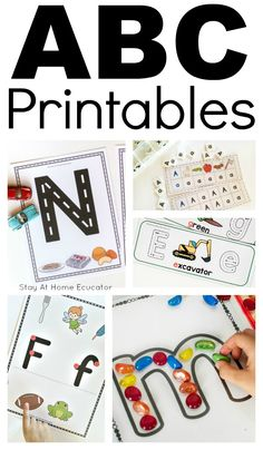 Letter recognition is one of the most important skills children can gain. These tips explain how to encourage letter recognition as well as it's importance. Writing Activities For Preschoolers, Preschool Literacy, Preschool Printables, Preschool Lessons, Alphabet Activities, Time Activities, Literacy Centers, Preschool Centers, Preschool Alphabet