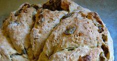 Olívás, fűszeres ausztrál kenyér I. (tej- és élesztőmentes) Tej, Bread, Food, Brot, Essen, Baking, Meals, Breads, Buns