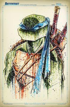 Teenage Mutant Ninja Turtles - Leonardo by Rob Duenas
