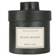 Mad et Len - Duftkerze Black Afghan
