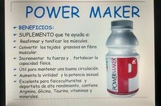 Producto Drink Bottles, Water Bottle, Drinks, Vitamins, Health Education, Health And Wellness, Body Builders, Drinking, Beverages