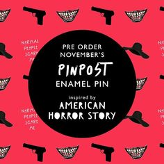 We have launched November's PINPOST! It's inspired by AMERICAN HORROR STORY And you can get 20% off EVERYTHING using code 'HELLO' all week! Shop all enamel pins on http://ift.tt/1ihQVKN . . . #shopping #shopsmall #smallbusiness #shop #onlineshop #onlinestore #gifts #display #pin #pins #enamelpin #enamelpins #lapelpin #lapelpins #pingame #pinlife #pincollection #pincollector #pinpost #pinoftheday #flair #ShowMeYourPin #pinstagram #pintrill #pinsofig #pinaddict #ahs #americanhorrorstory…