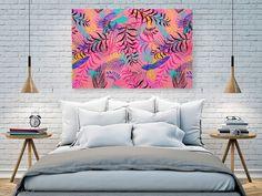 JAKOŚĆ WYKONANIA: Najwyższej jakości zadrukowane płótno naciągnięte na solidne, sosnowe krosno malarskie. Każdy obraz posiada w standardzie kliny napinające oraz zawieszkę do powieszenia obrazu. #canvas #obraz #design Tapestry, Painting Canvas, Law, Home Decor, Design, Hanging Tapestry, Tapestries, Decoration Home, Room Decor