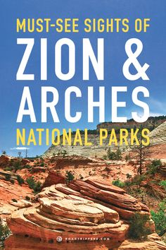 The Colorado Plateau is full of beautiful geological wonders. Don't miss these beautiful landscapes of Zion and Arches National Parks. #nationalparks