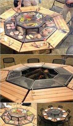 barbecue sitting place