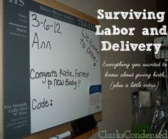 Surviving Labor and Delivery: Everything you need to know about child birth (plus a little more)