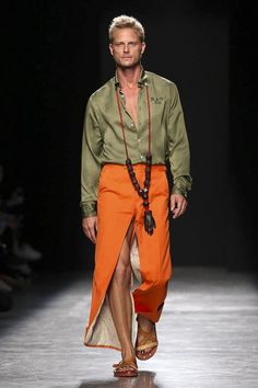 Andreas Kronthaler for Vivienne Westwood Fashion Show Ready to Wear Collection Spring Summer 2017 in Paris