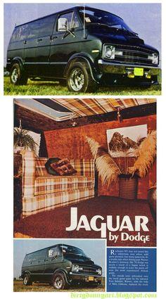 Jaguar Van by Dodge. Fuck yeah!