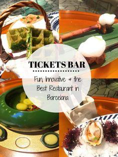 Tickets Bar: Fun, Innovative & the Best Restaurant in Barcelona
