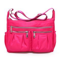 33cd996eac7 2016 New High Quality waterproof Nylon Shoulder Bag women Casual messenger  bags women handbag cross body bag bolsas wholesale