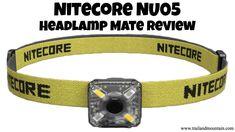 NITECORE NU05 Headlamp Mate Unboxing & Review