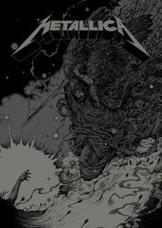 Metallica - ''Phantom Lord'' - Richey Beckett - 2013 ---- i have a t-shirt with this art