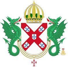 BLOG DE CAVALARIA: Brasão da Família Imperial Brasileira