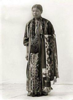 Ho Chunk Lady. Wisconsin 1890's.