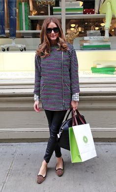 Olivia Palermo at Piperlime