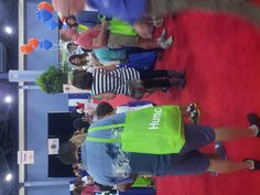 So many visitors to the @youthH2O Booth at the Health & Wellness Fair this weekend.