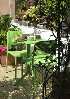Bora Chair Side - Green - Nardi