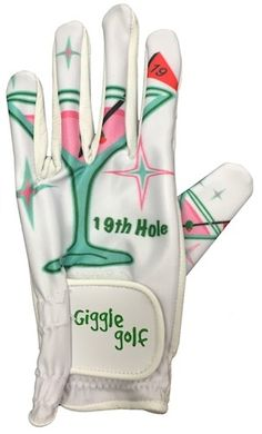 This 19th Hole women's golf glove has a breathable lyrca back, and high quality cabretta leather palm. Please note: gloves tend to run on the small size.