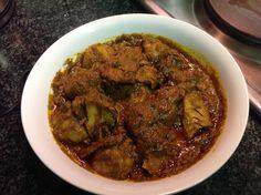 Kwacoco and mbanga soup