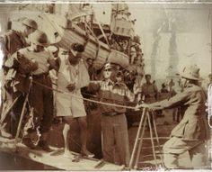 evacuation du corps britannique en Crète en 1941