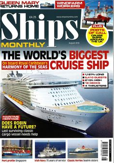 Ships Monthly (August 2016)