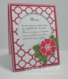Mom by TreasureOiler - Cards and Paper Crafts at Splitcoaststampers