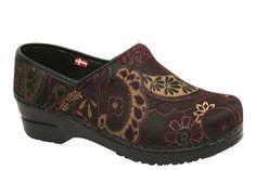 Sanita VEGAN shoe that's pretty! Idella Vegan - Bordeaux
