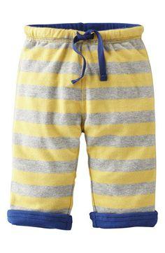 Mini Boden 'Baggies' Reversible Jersey Pants (Baby Boys) | Nordstrom