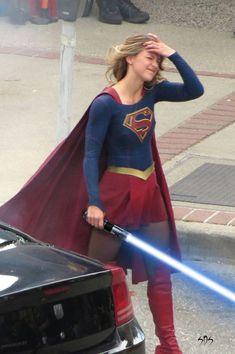 Oops! (Jedi Master Supergirl) #SuperGirl #MelissaBenoist