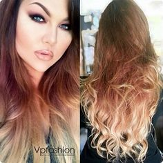 8 New Ombre Hair Extensions Ideas Inspired by Vpfashion Beauties  Sarah's before and after hair looks
