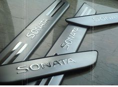 Car Parts Stainless Door Sill Plate Trim Scuff Cover Panel Fit For HYUNDAI SONATA 2011 2012 2013